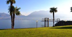 Trilocale fronte lago con posto auto, darsena e spiaggia privata, Ghiffa