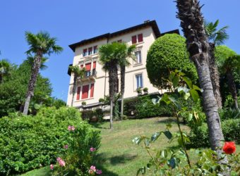 Attico in villa con vista lago, Vignone