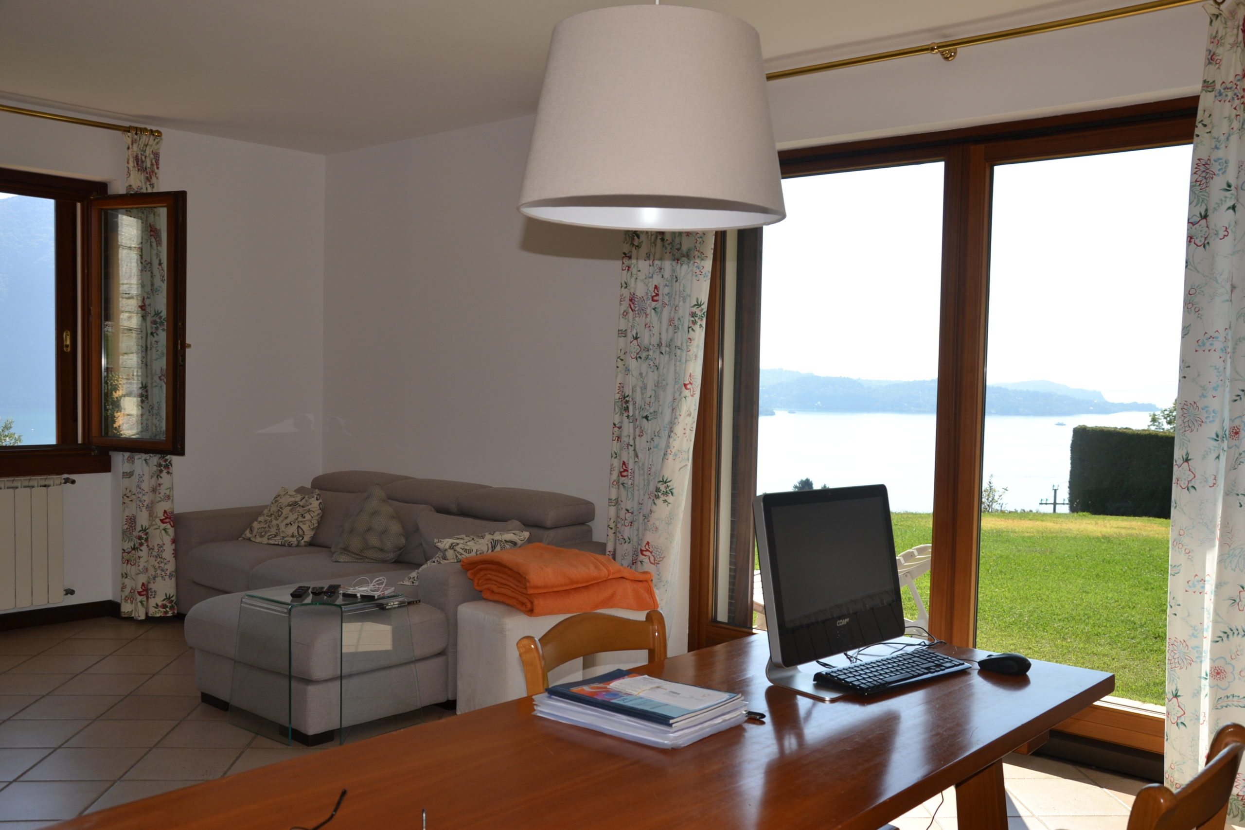 Villa con splendida vista lago:Ghiffa