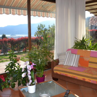 Villa vista lago, con giardino, Verbania