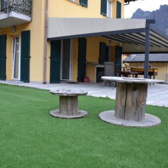 Trilocale con giardino e terrazzo, Ornavasso