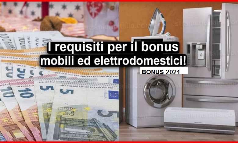 Bonus mobili 2021, come funziona la detrazione per l'acquisto di mobili ed elettrodomestici